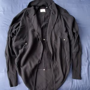 Aritzia Wilfred Diderot Sweater Black Size XXS